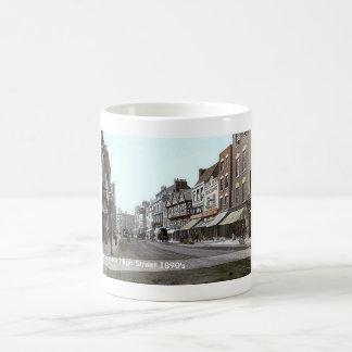 Vintage England  Gloucester 1890's Coffee Mugs