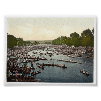Vintage England Henley On Thames Regatta 1890 s Posters