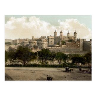 Vintage England postcard London Tower Postcard