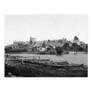Vintage England, Windsor Castle Postcard