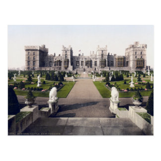 Vintage England, Windsor Royal Castle Postcard