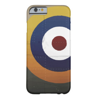 Vintage english aircraft roundel barely there iPhone 6 case