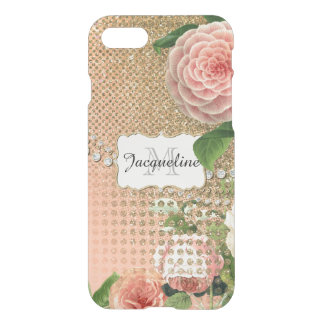 Vintage English Roses Glam Old Hollywood Regency iPhone 7 Case