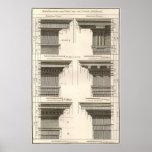 Vintage Entablatures, Orders of Architecture