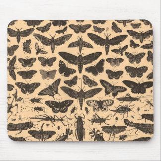 Vintage Entomology Mousepad