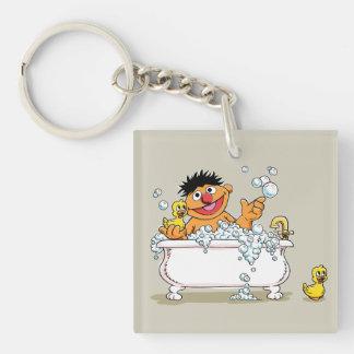 Vintage Ernie in Bathtub Key Ring