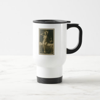 Vintage Erotica Risque French Postcard Stainless Steel Travel Mug