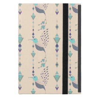 Vintage ethnic tribal aztec bird cover for iPad mini