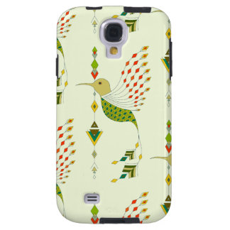 Vintage ethnic tribal aztec bird galaxy s4 case
