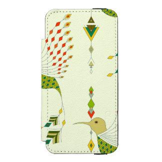 Vintage ethnic tribal aztec bird incipio watson™ iPhone 5 wallet case