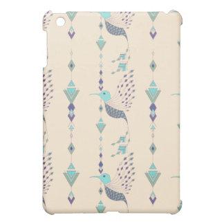 Vintage ethnic tribal aztec bird iPad mini cases