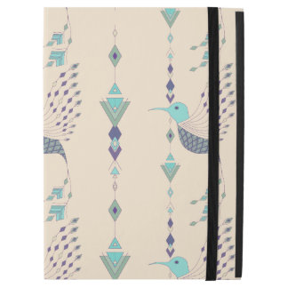 "Vintage ethnic tribal aztec bird iPad pro 12.9"" case"