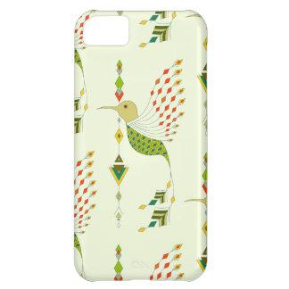 Vintage ethnic tribal aztec bird iPhone 5C case