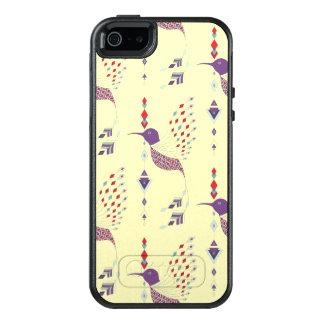 Vintage ethnic tribal aztec bird OtterBox iPhone 5/5s/SE case