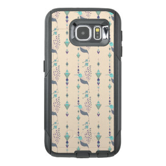 Vintage ethnic tribal aztec bird OtterBox samsung galaxy s6 case