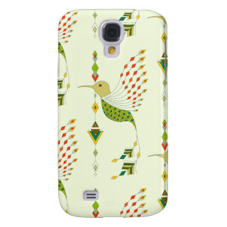Vintage ethnic tribal aztec bird samsung galaxy s4 covers