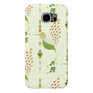 Vintage ethnic tribal aztec bird samsung galaxy s6 cases