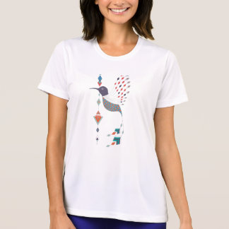 Vintage ethnic tribal aztec bird T-Shirt