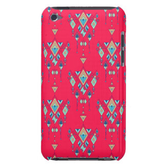 Vintage ethnic tribal aztec ornament barely there iPod case