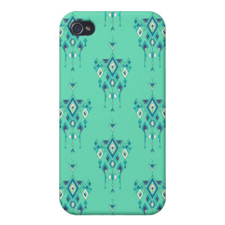 Vintage ethnic tribal aztec ornament case for the iPhone 4