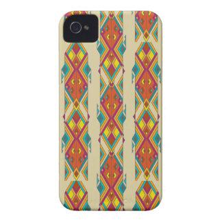 Vintage ethnic tribal aztec ornament Case-Mate iPhone 4 cases