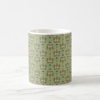 Vintage ethnic tribal aztec ornament coffee mug