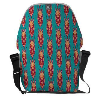 Vintage ethnic tribal aztec ornament commuter bags