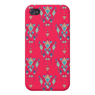 Vintage ethnic tribal aztec ornament cover for iPhone 4