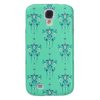 Vintage ethnic tribal aztec ornament galaxy s4 cases