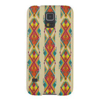 Vintage ethnic tribal aztec ornament galaxy s5 covers