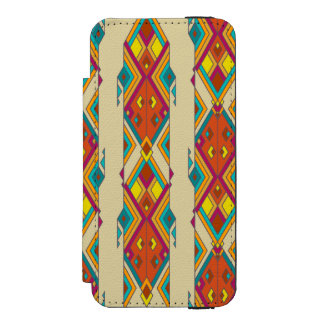 Vintage ethnic tribal aztec ornament incipio watson™ iPhone 5 wallet case