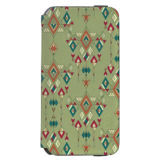 Vintage ethnic tribal aztec ornament incipio watson™ iPhone 6 wallet case