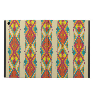 Vintage ethnic tribal aztec ornament iPad air cover