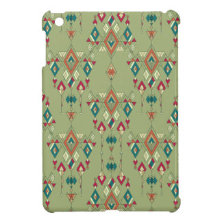 Vintage ethnic tribal aztec ornament iPad mini covers