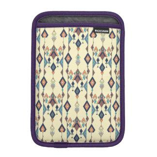 Vintage ethnic tribal aztec ornament iPad mini sleeve