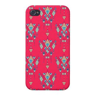 Vintage ethnic tribal aztec ornament iPhone 4/4S cover