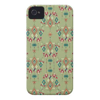 Vintage ethnic tribal aztec ornament iPhone 4 Case-Mate case
