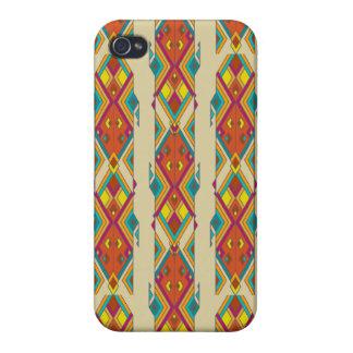 Vintage ethnic tribal aztec ornament iPhone 4 covers