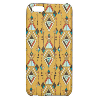 Vintage ethnic tribal aztec ornament iPhone 5C cover