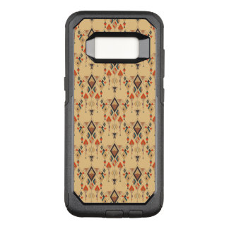 Vintage ethnic tribal aztec ornament OtterBox commuter samsung galaxy s8 case