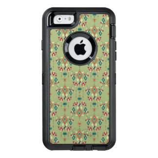 Vintage ethnic tribal aztec ornament OtterBox defender iPhone case