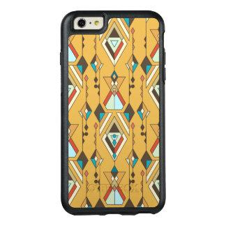 Vintage ethnic tribal aztec ornament OtterBox iPhone 6/6s plus case