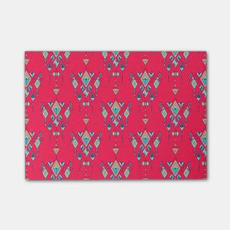 Vintage ethnic tribal aztec ornament post-it notes