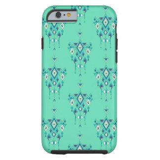 Vintage ethnic tribal aztec ornament tough iPhone 6 case