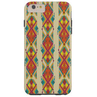 Vintage ethnic tribal aztec ornament tough iPhone 6 plus case