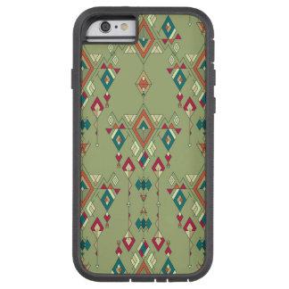 Vintage ethnic tribal aztec ornament tough xtreme iPhone 6 case