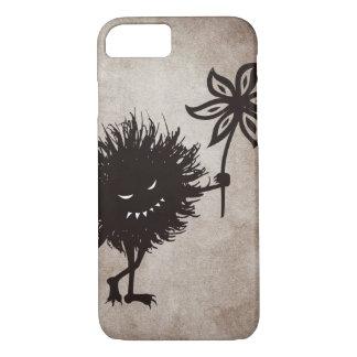 Vintage Evil Bug Gives Flower Halloween iPhone 8/7 Case