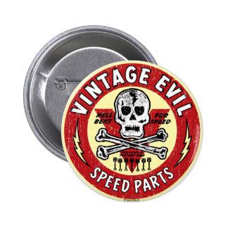 Vintage Evil nose art 001 6 Cm Round Badge