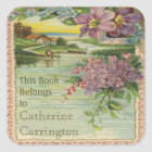 Vintage Ex Libris Bookplate Stickers