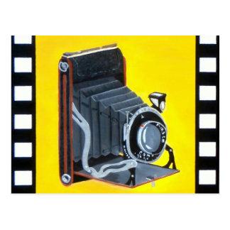 Vintage Expandable Camera Postcard